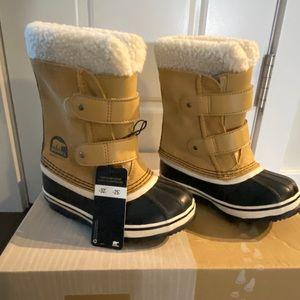 Kids Sorel Pac Strap Winter Boots